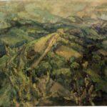 אריה אורלנד - נוף ארצישראלי - שנות הארבעים