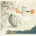 אריה ארוך - סירה - 1970