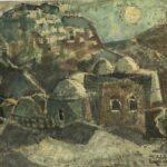 יעקב איזנשר - קבר רשי במירון - שלהי שנות הארבעים